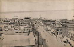 View of Waterfront Postcard