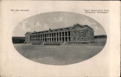 The New Barracks, Puget Sound Navy Yard
