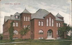 Science Hall Postcard