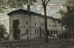 Ormsby Hall - Lawrence University Postcard