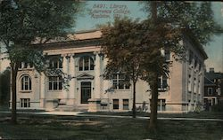 Library at Lawrence College Postcard
