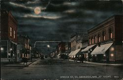 Oregon Street at Night