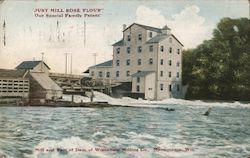 Mill and Part of Dam of Wisconsin Milling Co.