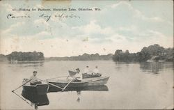 Fishing for Partners, Okauchee Lake
