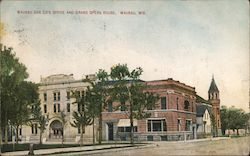 Wausau Gas Company's Office and Grand Opera House