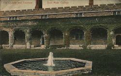 The Cloister and Fountain, Bryn Mawr College