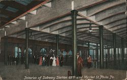Interior of Subway Station 69th and Market Street