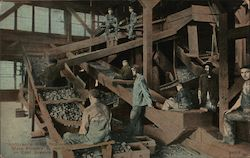 Slate Pickers at Work in Coal Breaker