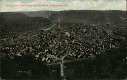Bird's Eye View from Incline Plane Postcard