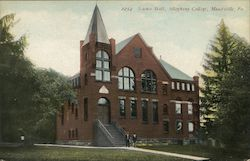 Science Hall at Allegheny College Postcard
