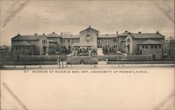 Museum of Science and Art - University of Pennsylvania Postcard