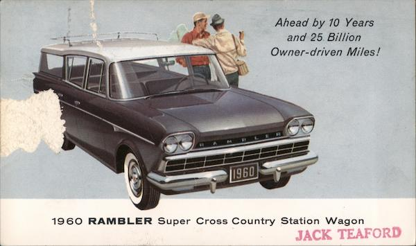 1960 Rambler Super Cross Country Station Wagon Cars
