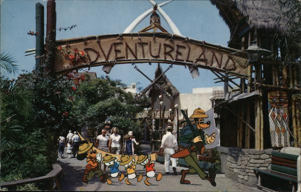 Adventureland Safari Anaheim California