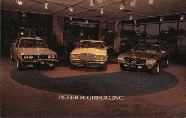 Peter H. Gregg Inc. Mercedes, BMW Jacksonville Florida