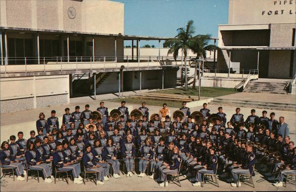 1967 Ft. Lauderdale High School Band Fort Lauderdale Florida