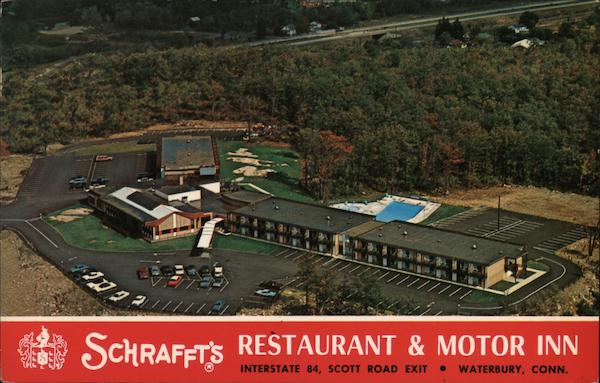 Schrafft's Restaurant & Motor Inn Waterbury Connecticut