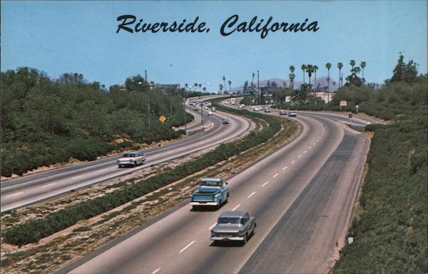 Riverside Freeway California