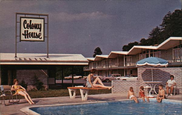 Colony House Motor Lodge Roanoke Virginia