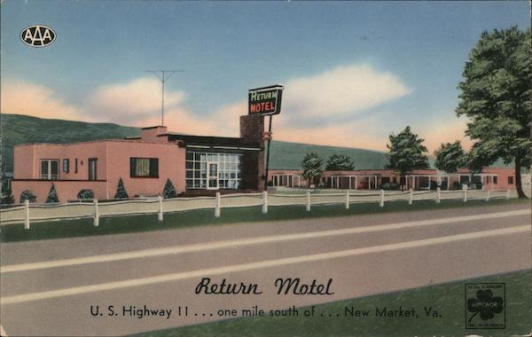 Return Motel New Market Virginia