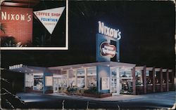 Nixon's Family Restaurant and Bakery Postcard