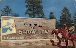 Show Low, Arizona Postcard