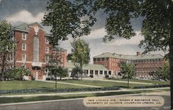 New Lincoln Ave. Women's Residence Hall, University of Illinois