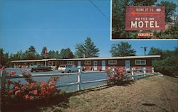 Motor Inn Motel Postcard