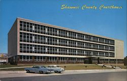 Shawnee County Courthouse Postcard