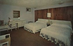 Sleepy Hollow Motor Hotel Postcard