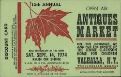1974 12th Annual Open Air Antiques Market