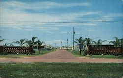 Cherry Estates Waterfront Mobile Home Park Postcard