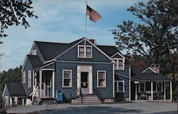 Nobleboro Post Office Postcard