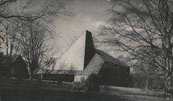 First Presbyterian Church, Built 1970, Philip Ives, Architext Postcard