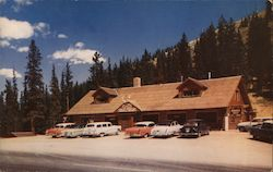 Monarch Crest Lodge Postcard