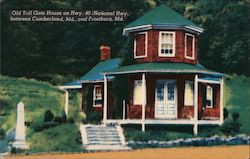 Old Toll Gate House Postcard