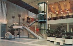 Glass Elevator - East Court Westland Center