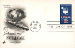 USA World Vacationland 10c First Day Cover
