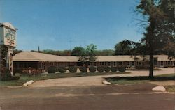 Clinton Motel Postcard