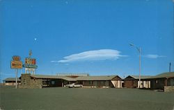 Gray Mountain Motel Postcard