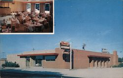 Brant's Restaurant and Motel Postcard