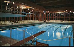 New Indoor Swimming Pool, Grossinger's Catskill Resort Hotel, New York Postcard