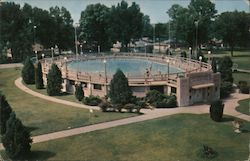 Big Creek Park Swimming Pool Postcard