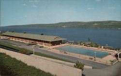 Glen Motor Court Overlooking Seneca Lake