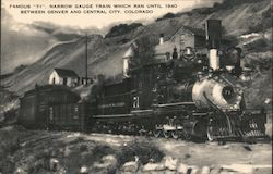 Colorado & Southern Number 71 Postcard