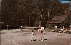 All Ages Play Tennis at The Mohawk, 4th Lake