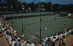 Stowe Tennis Stadium at Kalamazoo College Postcard