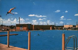 One of Many Swimming Pools Postcard