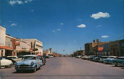 Main Street of Killeen, Texas, near Fort Hood Postcard
