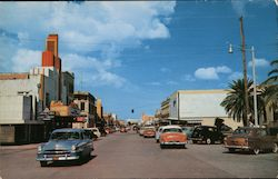 Main Street of Kingsville, Texas