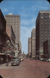 Downtown Forth Worth Postcard